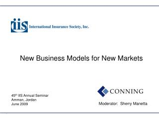 New Business Models for New Markets