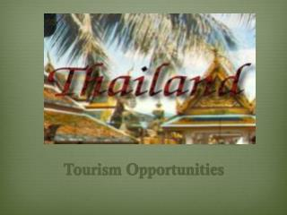 Tourism Opportunities