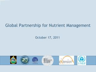 Global Partnership for Nutrient Management