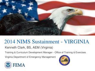 2014 NIMS Sustainment - VIRGINIA