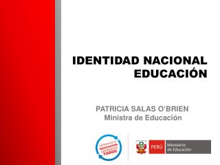 IDENTIDAD NACIONAL EDUCACIÓN