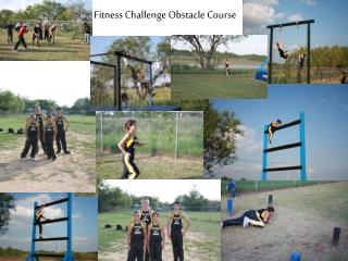 Fitness Challenge Obstacle Course