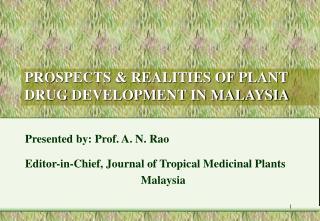 Ventria Bioscience and the Controversy over Plant Made Medicines