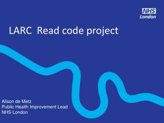 LARC  Read code project