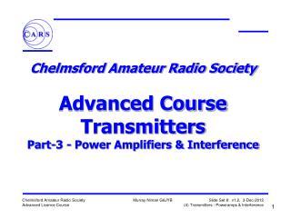 Amplifier Class & Bias