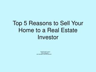 5 Reasons to Sell Your House to an Investor