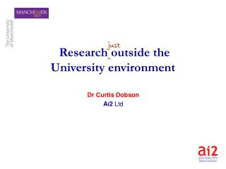 Research outside the University environment