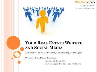 Your Real Estate Website and Social Media