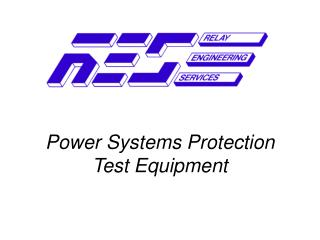 Power Systems Protection Test Equipment