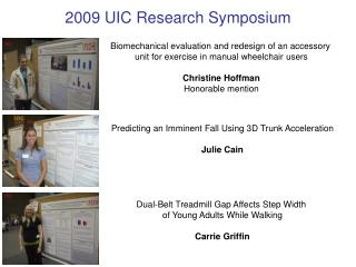 Predicting an Imminent Fall Using 3D Trunk Acceleration Julie Cain
