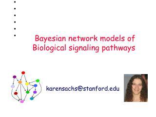 Bayesian network models of Biological signaling pathways