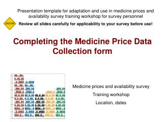 Completing the Medicine Price Data Collection form