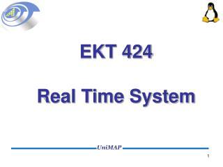 EKT 424 Real Time System