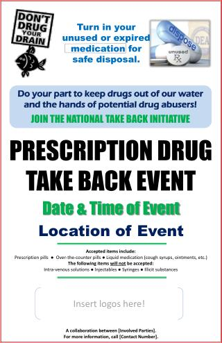 PRESCRIPTION DRUG TAKE BACK EVENT