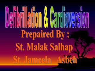 Defibrillation & Cardioversion