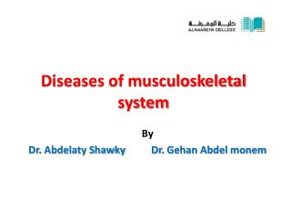 Diseases of musculoskeletal system