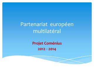 Partenariat  européen multilatéral