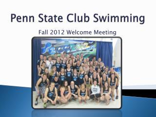 Penn State Club Swimming