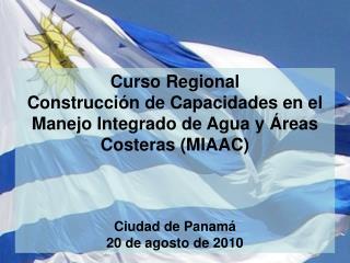 Curso Regional Construcción de Capacidades en el