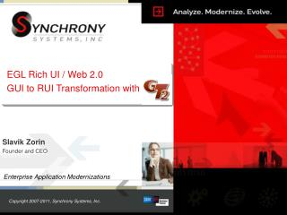 EGL Rich UI / Web 2.0 GUI to RUI Transformation with