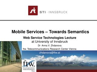 Mobile Services – Towards Semantics