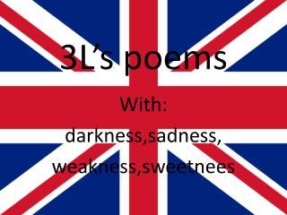 3L's poems