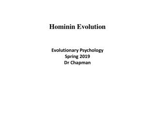 Mammalian Evolution and Early Primate Evolution