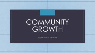 Community Growth
