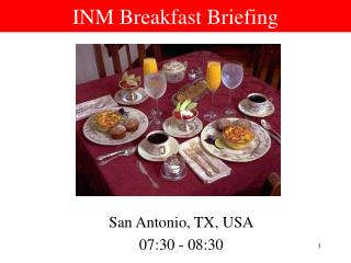 INM Breakfast Briefing
