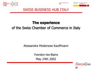 SWISS BUSINESS HUB ITALY