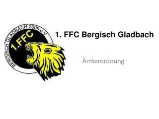 1. FFC Bergisch Gladbach