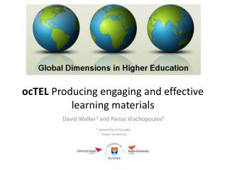 ocTEL Producing engaging and effective learning materials