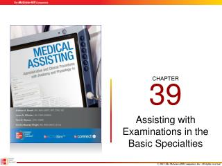 Assisting with Examinations in the Basic Specialties