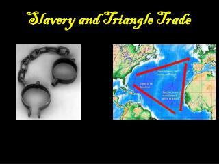 Slavery and Triangle Trade