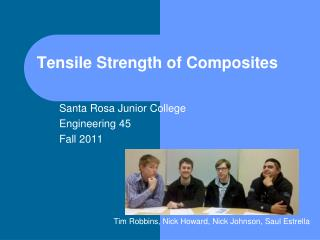Tensile Strength of Composites