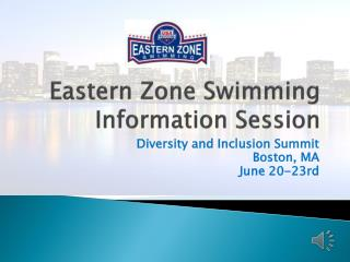 Eastern Zone Swimming Information Session