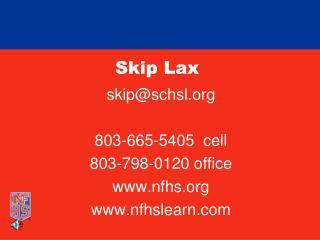 Skip Lax