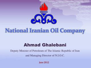 National Iranian Oil Company