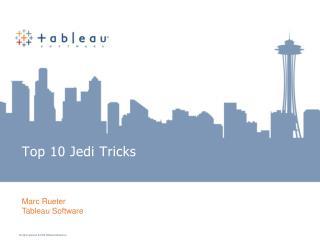 Top 10 Jedi Tricks