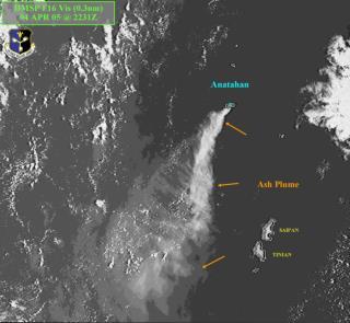 Current Volcanic Ash SIGMET