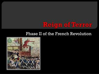 an overview of the radical stage during the french revolution Overview stages of revolution  inequality and even poverty during the time [king, g,  this ended the french revolution happened from 1789 to 1799,.