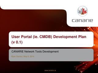 CANARIE  Network Tools Development