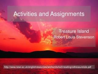 Activities and Assignments