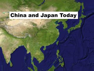 China and Japan Today
