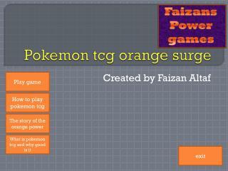 Pokemon tcg orange surge