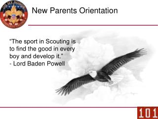 New Parents Orientation