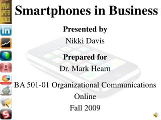 Smartphones in Business