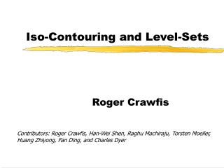 Iso-Contouring and Level-Sets
