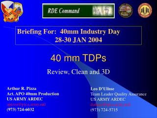 40 mm TDPs