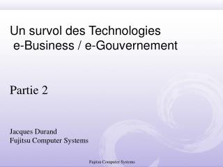 2. Messageries e-Business - AS1,2,3 - ebMS 2, 3